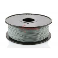 Wholesale Silver 1.75 MM PLA 3D Print Filament High Strength , HIPS / PVA Filament from china suppliers