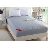 Buy cheap 180T Professional Hotel Mattress Protector Cotton Nice Hollow Fiber Filling from wholesalers