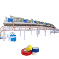 Wholesale Water Based Acrylic BOPP Jumbo Roll Solvent Adhesive Coating Machine from china suppliers
