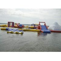 Wholesale PVC Inflatable Commercial Water Splash Park , Floating Water Playground Equipment from china suppliers
