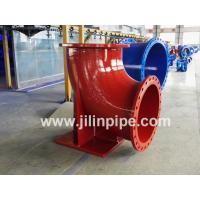 Buy cheap Ductile iron pipe fittings, double flanged duckfoot bend from wholesalers