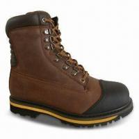 Wholesale Safety Boots with Rubber Toe Cap and Steel Toe Protection from china suppliers