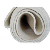 China White Color Nomex Seamless Conveyor Felt For Heat Transfer Printing Machine on sale