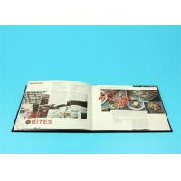 Wholesale 400gsm Hardcover Book Printing For Catalogue / Brochure / Magazine from china suppliers