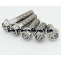 Wholesale Factory sell hex flange bolt class8.8 cheap gr5 racing motor titanium flange bolt manufacturer&supplier&expoter from china suppliers