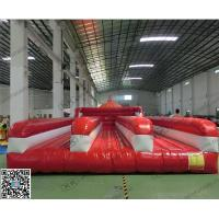 Wholesale 0.55mm Inflatable Bouncer , Red Inflatable Jumpers In Public from china suppliers