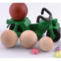 Wholesale wood ball natural decoration beads good quality ball well polished from china suppliers
