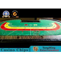 Wholesale Baccarat 10 Person Casino Poker Table With Cash Drop Holder 2650 * 14530 * 750mm from china suppliers