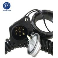 Buy cheap Customized High End 7 Pin Rear View Camera Trailer Cable Connector from wholesalers