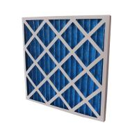 China Panel Pleated Air Filters with Multilevel Filtering System for Air Condition System on sale