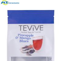 Wholesale Laminated Material Flat Bottom Pouch Customized Logo Color Optional For Coffee / Snack from china suppliers