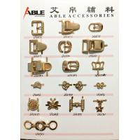 Buy cheap Custom-made zinc alloy shoes accessories plastic metal shoe buckles for lady from wholesalers