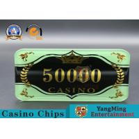 Custom Ceramic Clay And Plastic Casino Poker Chips With Custom Logo for sale