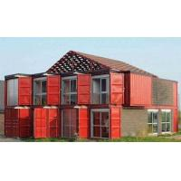 Wholesale Custom Container House Prefab Rockwool Or Glass Fiber Sandwich Wall Panel from china suppliers