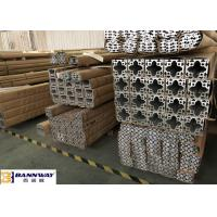 Precision Industrial Aluminum T Section Extrusions 40x80mm Stable Performance for sale