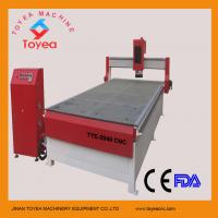Buy cheap CNC Wood router machine with helical driving model HIWIN square linear rail TYE from wholesalers