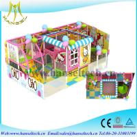 Wholesale Hansel top sale soft play houses indoor and outdoor for children from china suppliers