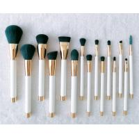 China OEM high quality professional 15 pcs synthetic makeup brushes set factory for sale