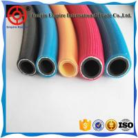 Wholesale Colored 16 mm  oxygen and acetylene delivery twin Line welding fiber woven flexible rubber Hose from china suppliers