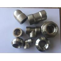 Wholesale Super Duplex Stainless Steel Pipe Fittings S32750 2507 1.4410 ASTM A182 F53 Forged Elbow Tee Cross Pipe Cap from china suppliers