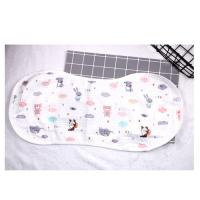 Wholesale Baby Bandana Muslin Burp Cloths Reversible 100 Muslin Cotton Multi Color from china suppliers
