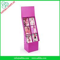 Quality Customized printing 6 pockets Paper material FSDU Cardboard floor Display book for sale