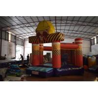 China Small Size 0.55mm PVC Tarpaulin Inflatable Jump House / Kids Jumping Castle for sale