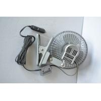 Quality Free standing Oscillating Auto Fan 6 Inch DC 12V / 24V With Clip for sale
