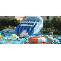 Wholesale PVC tarpaulin Outdoor  Splash Mat Inflatable Water Park  summer inflatable water park from china suppliers