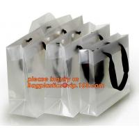 China Cheap pp handle bag promotional gift shopping bag plastic pp tote bag,casual portable transparent PP/PVC tote gift bag on sale