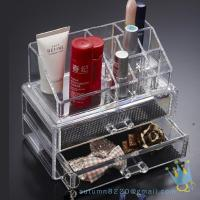 Wholesale clear acrylic lockable storage box from china suppliers