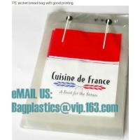Wholesale Micro-perforated Gusseted French Bread, PP bread bags, micro, bread bags, Cpp bags, opp from china suppliers