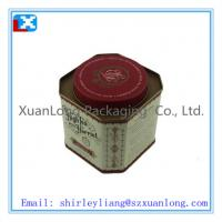 Wholesale Colorful customized tea packaging tin box from china suppliers