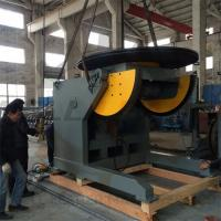 Wholesale Automatic Pipe Welding Positioners 10 Ton Tilting / Rotation Capacity CE Oil-free Gearbox from china suppliers