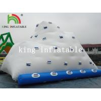 Quality Backyard Inflatable Water Park Iceberg For Lake / River / Swimming Pools for sale