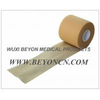 Quality No Adhesive Porous Flesh Color Foam Underwrap for Sports Pre Wrap / Gold Athletic Tape for sale