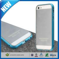 Quality Ultra Slim Apple Mobile Phone Cases , Aluminum Metal Bumper Frame Iphone 5 5S Cover for sale