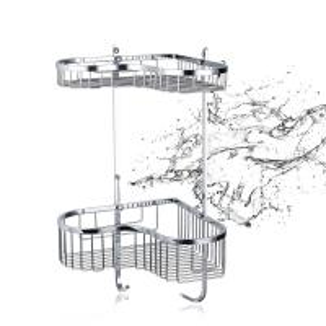 Buy cheap OEM Hotel Bathroom Corner Shelf Bathroom Fittings No Assembly from wholesalers