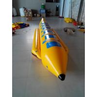Wholesale Single Lane Inflatable Water Toys , PVC Tarpaulin Banana Boat Towable for 6 Person from china suppliers