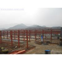 Wide Span Pre-Engineering Industrial Steel Buildings Frame , Movable Container House for sale