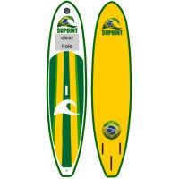 Wholesale Green Inflatable SUP Board SUP11' Inflatable Fishing Sup With LOGO Customized from china suppliers