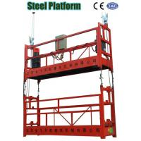 ZLP Double Cage Aerial Hanging Suspended Scaffolding, Tower Working Platform for Building for sale