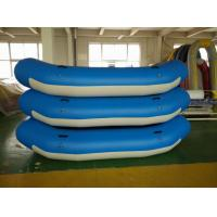 Wholesale Professional Inflatable Water Rafts , Anti Collision Durable Inflatable Fishing Raft from china suppliers