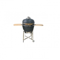 China wood fireplace outdoor kitchen CSA Grey  24 Inch Kamado Grill on sale