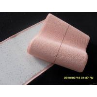 Wholesale Heavy weight Drill cotton elastic adhesive bandage (EAB) with film brick red colour from china suppliers