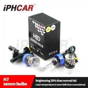Quality IPHCAR Hid Xenon Bulb H1 H3 H4 H7 High Brightness Hid Bulb Light 4300k 5500k 6000k H7 Bulb for sale