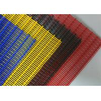 China PVC Colored Powder Coating Decorative Wire Mesh , 3D Wall Architectural Woven Mesh on sale