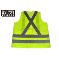 Wholesale Custom Reflective Safety Vest Clothing Yellow Green Safety Vest With Car Reflective Tape from china suppliers
