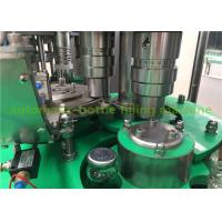 China Fully-Automatic Glass Bottle Hot Mango Juice Filling Machine With One Year Warranty on sale