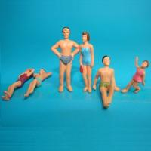Buy cheap model swim figures,color figure,painted swim figure,scale figures,model figures from wholesalers